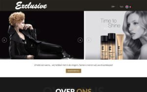 WordPress Website ontwerp Coiffure Exclusive Asse