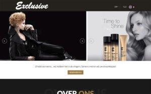 WordPress Website ontwerp Coiffure Exclusive Asse