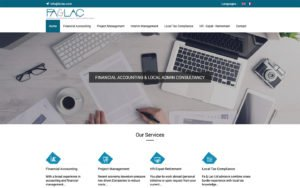 Website ontwerp Fa&Lac
