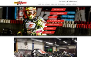Website ontwerp JPR Karting Sint-Niklaas CMS op maat