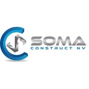 logo ontwerp SOMA CONSTRUCT NV