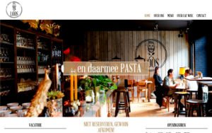 Pastarestaurant LOOS te Merchtem - website webdesign