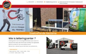 Lettering Center website webdesign site web