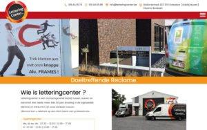Lettering Center website webdesign site web